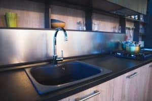 Satin Kitchen Faucets