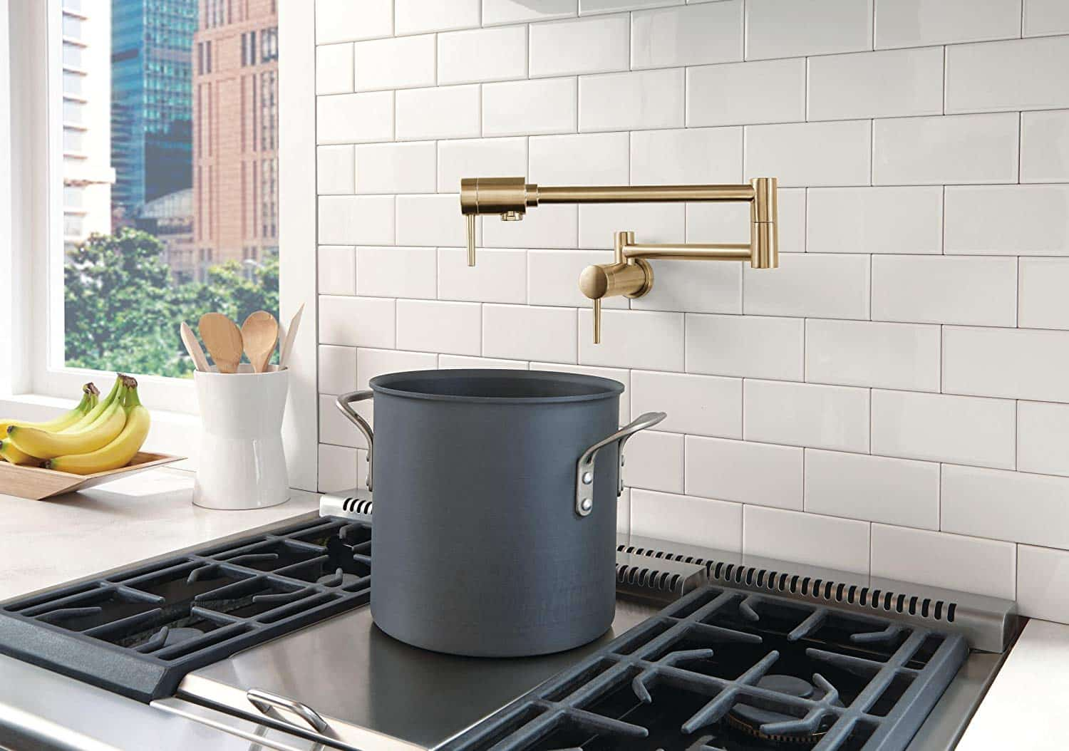 Wall Mount Kitchen Faucets Amp Pot Filler Faucet