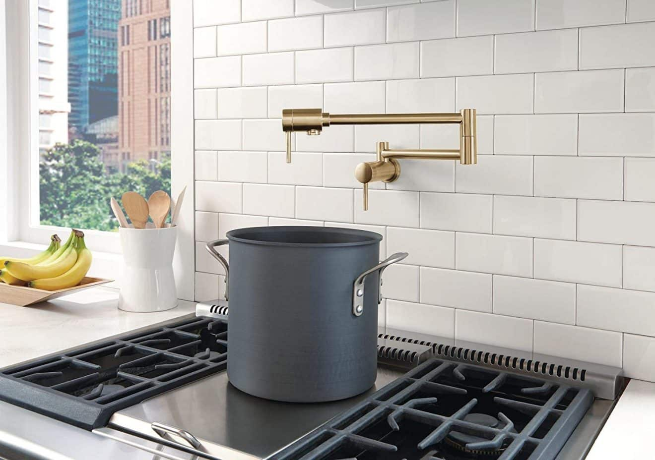 Wall Mount Kitchen Faucet