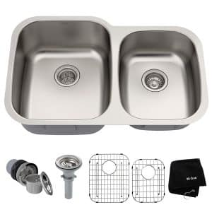 Kraus KBU24 Kitchen Sink