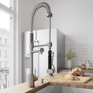 VIGO VG02007ST PullDown Spray Kitchen Faucet