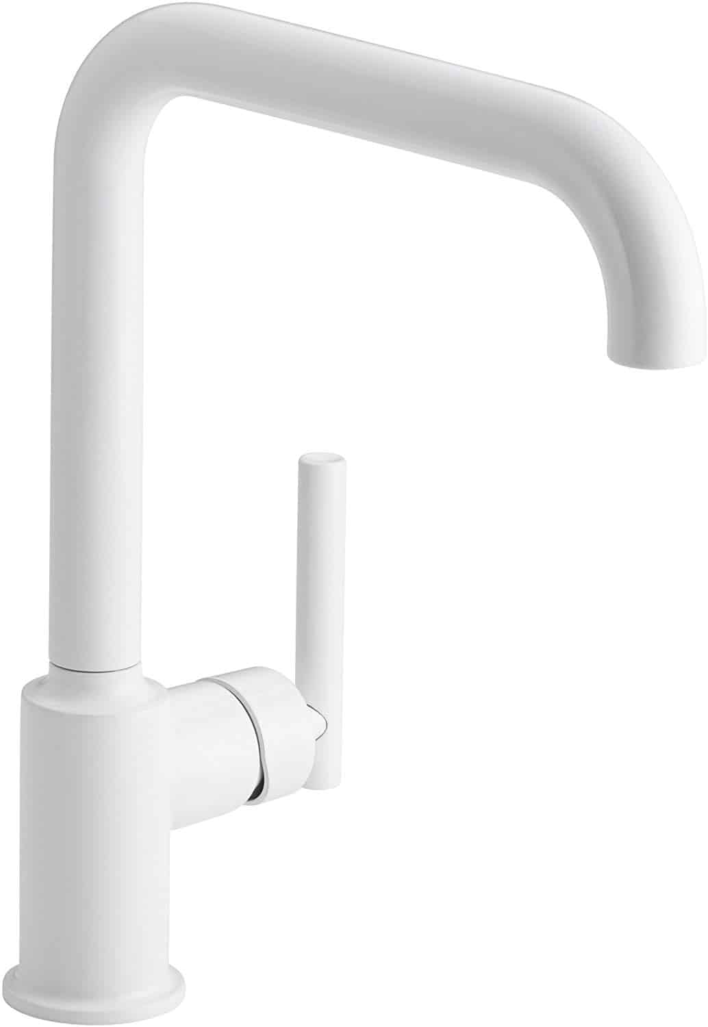 White Kitchen Faucets