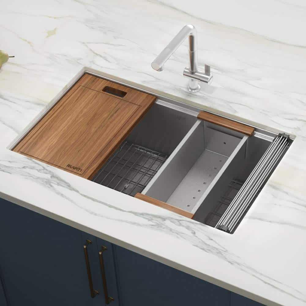 Modern Undermount Kitchen Sink