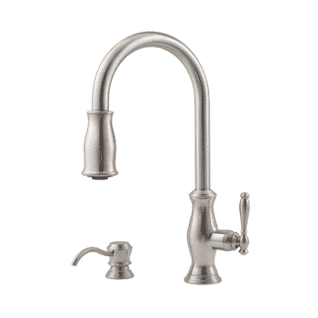 Pfister F5297TMS Hanover 1-Handle Pull-Down Kitchen Faucet